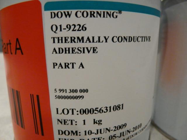 Dow Corning Electronics Thermally Conductive Adhesives